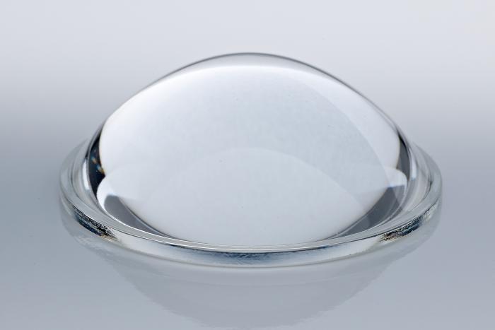 Plastic aspheric lenses