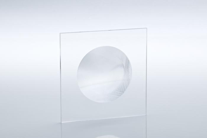 PMMA acrylic fresnel lenses