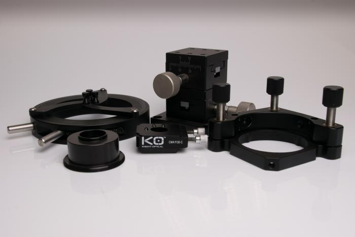 Optomechanics  post clamps from  Knight Optical