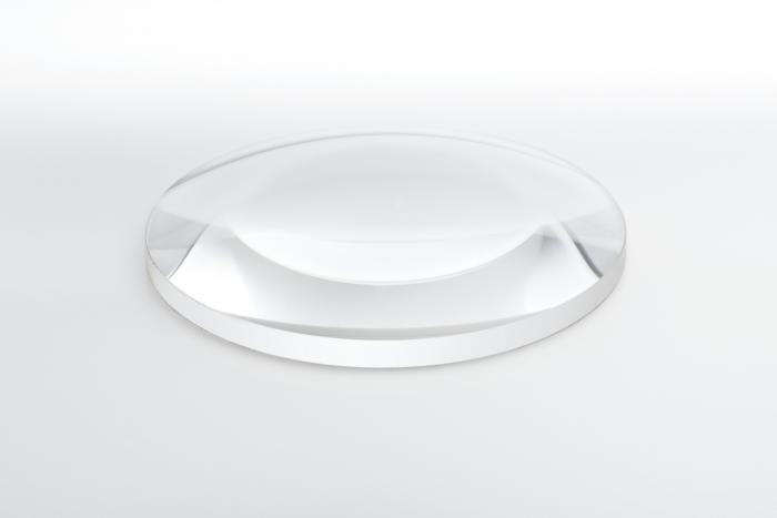 Planoconvex condenser lenses