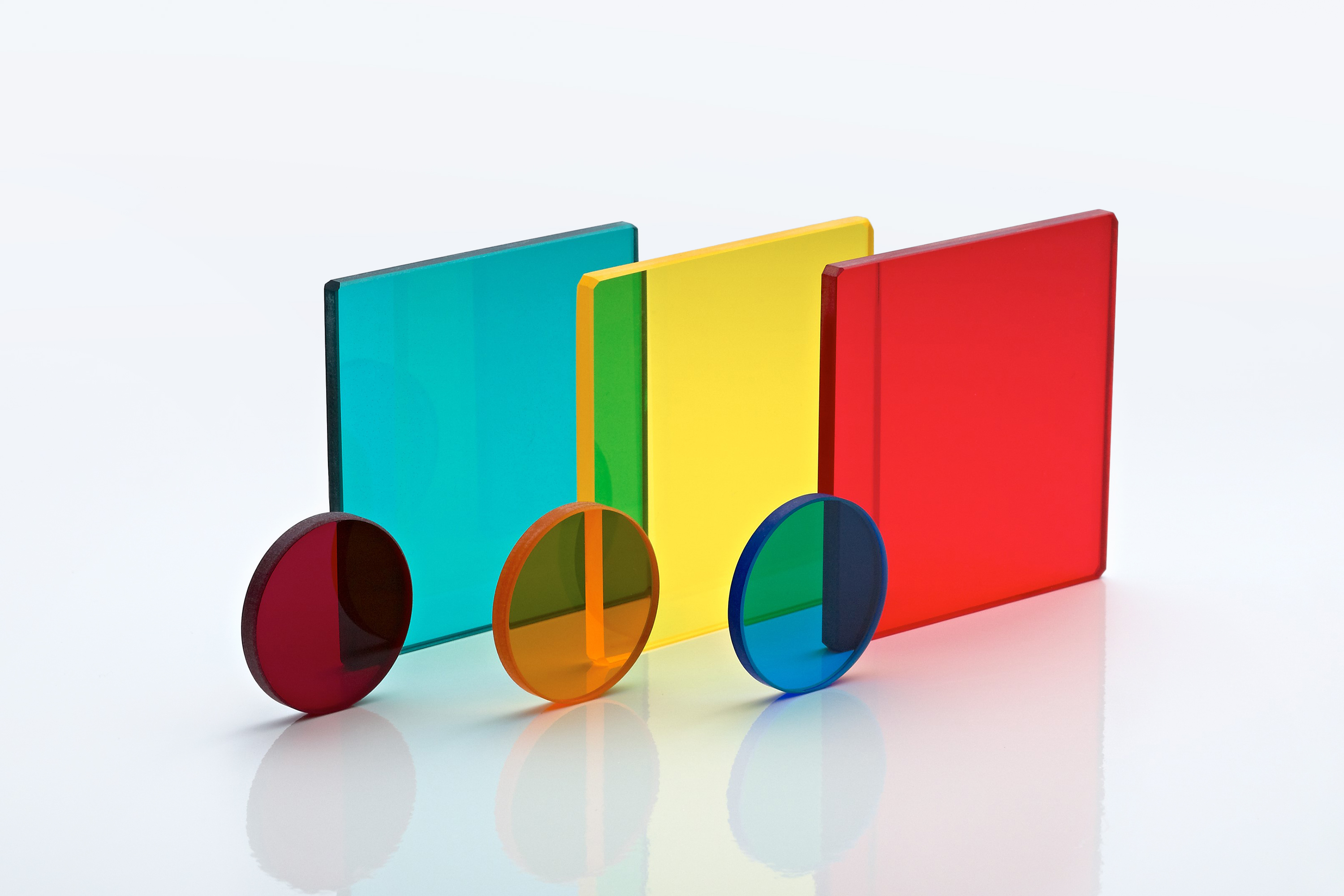 Coloured infrared optics from Knight Optical