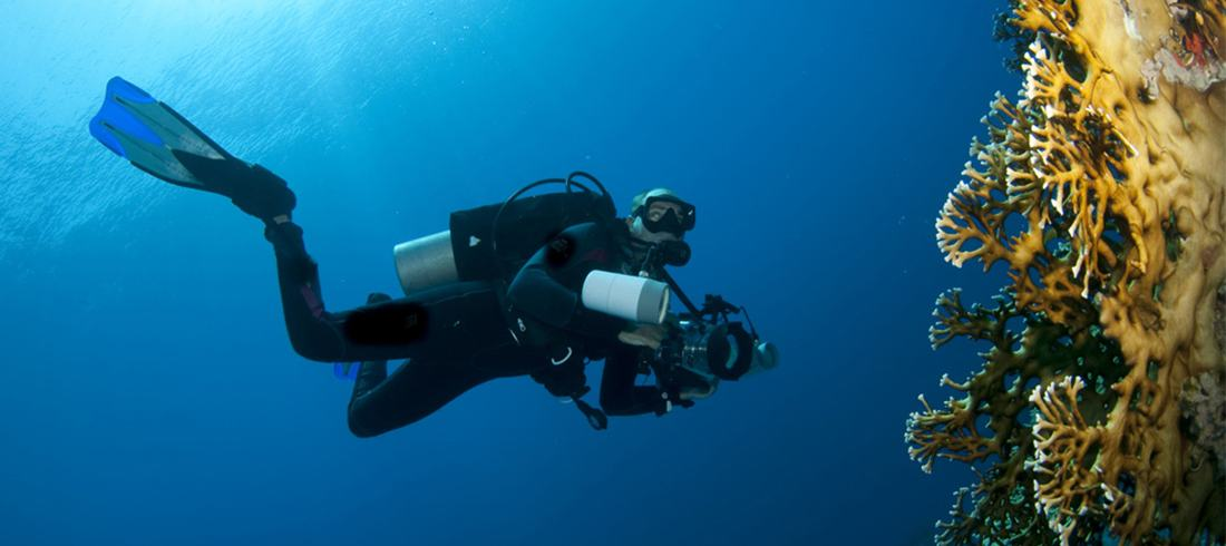 optical components for underwater industries