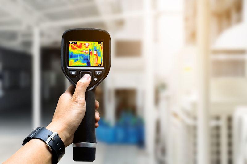 Temperature sensor IR filters